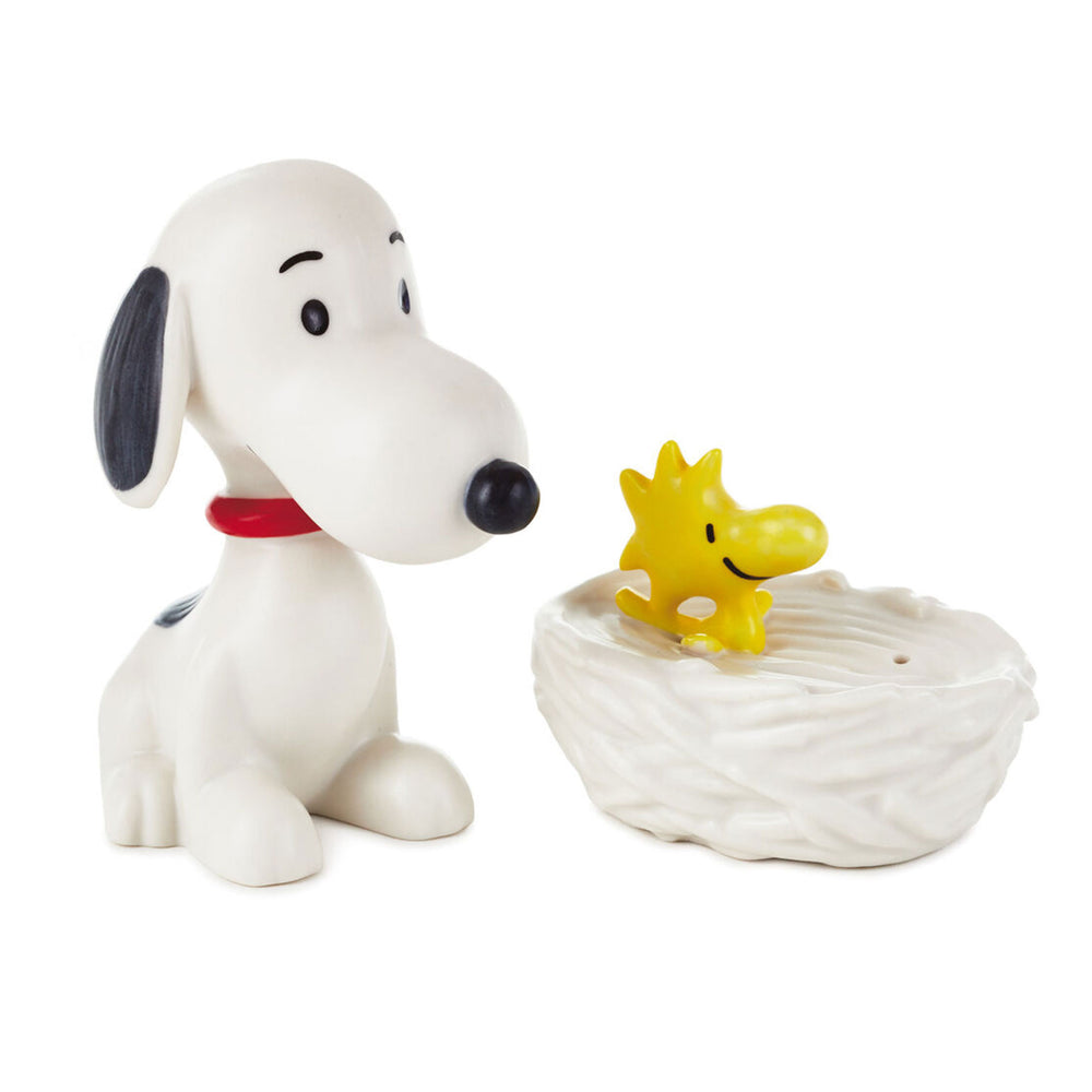 Peanuts Snoopy and Woodstock Salt & Pepper Shakers, Set of 2