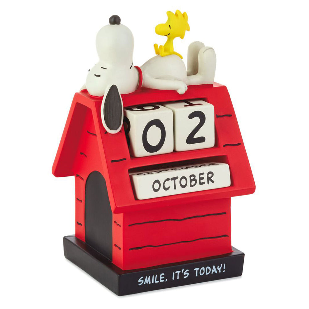 Load image into Gallery viewer, Peanuts Snoopy Smile Perpetual Calendar