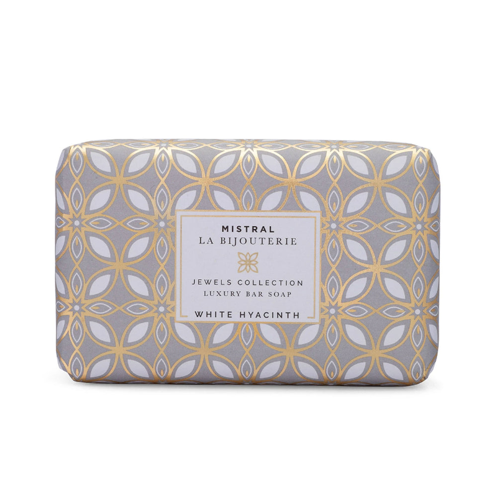 White Hyacinth Bar Soap