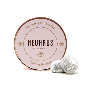 Load image into Gallery viewer, Neuhaus Belgian Champagne Chocolate Truffles in Round Box, 4 pieces