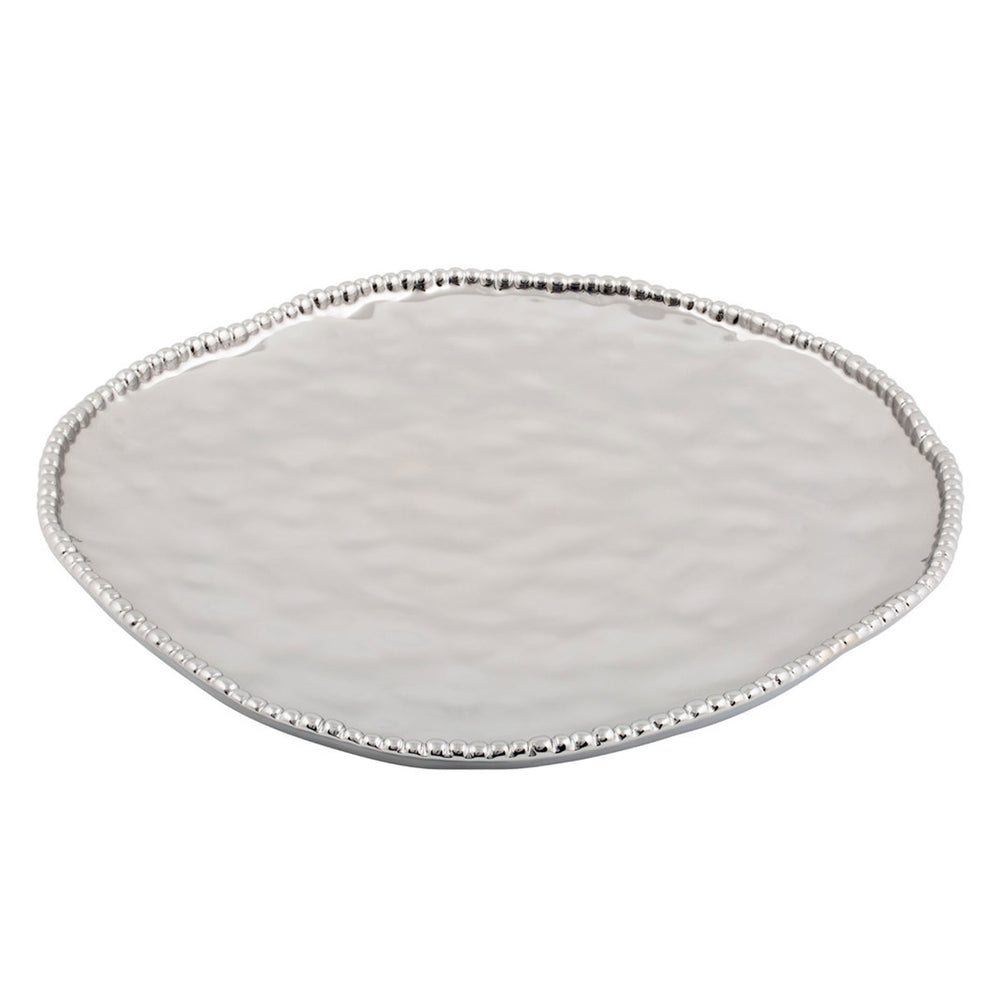 Pampa Bay Silver Titanium Plated Serving Tray