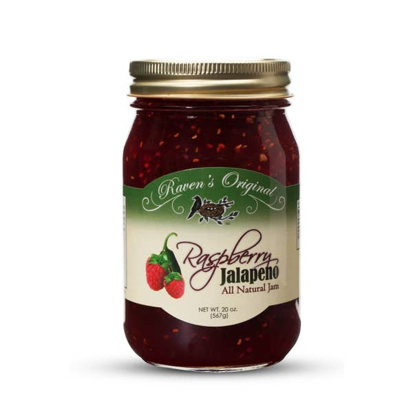 Load image into Gallery viewer, Raven's Nest - Raspberry Jalapeno Jam