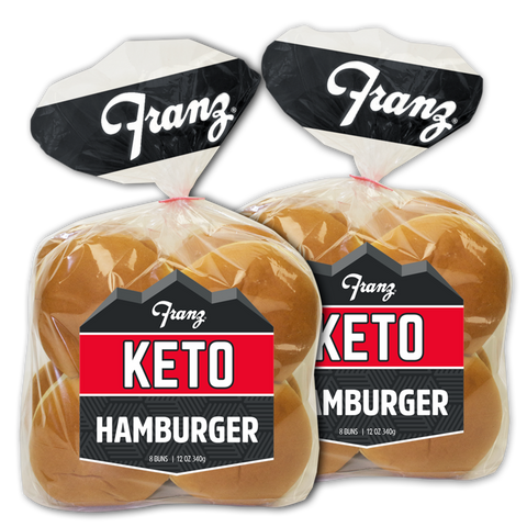 Keto Hamburger Buns - 2 pack