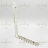 Solid Nickel Shelf Bracket