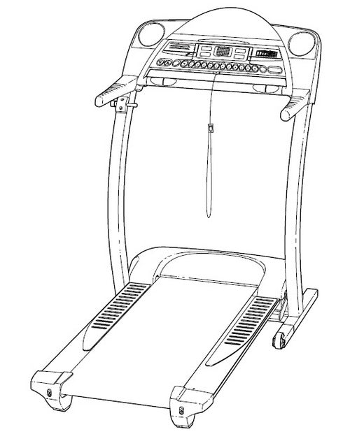 Treadmill PROFORM® 770 EKG Manual