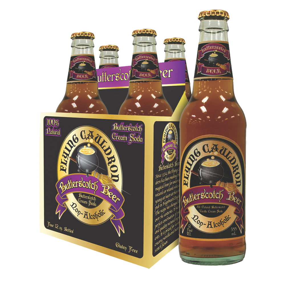 Flying Cauldron Butterscotch Beer 4 x 355ml Pack