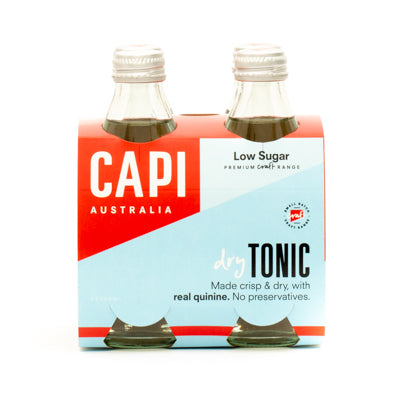 CAPI Dry Tonic 4 x 250ml Pack