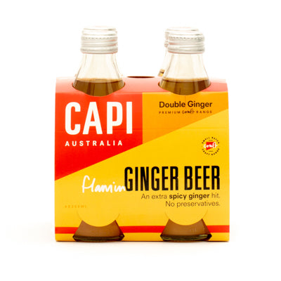 CAPI Flaming Ginger Beer 4 x 250ml Pack