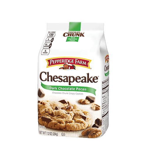 Pepperidge Farm Chesapeake Dark Chocolate with Pecan Cookies 204g