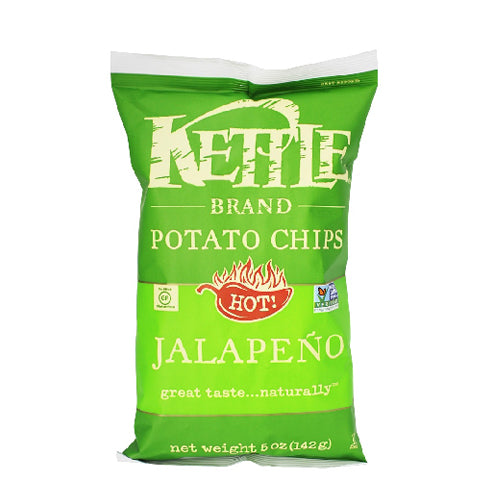 Kettle Jalapeno Potato Chips 142g