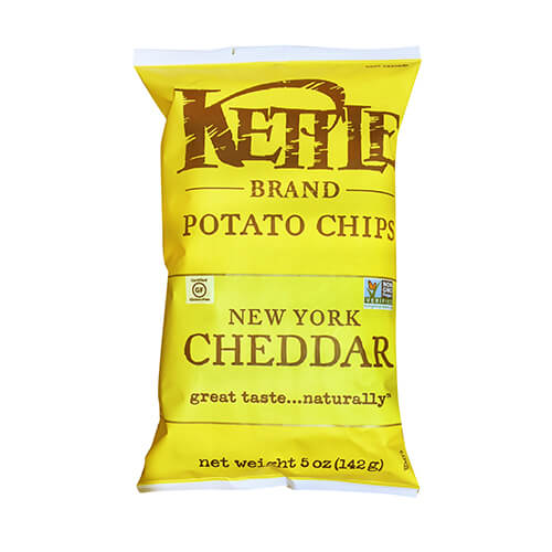 Kettle New York Cheddar Potato Chips 142g