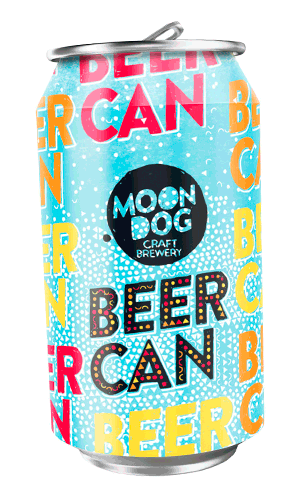 Moon Dog Beer Can Tropical Lager 30 x 330ml