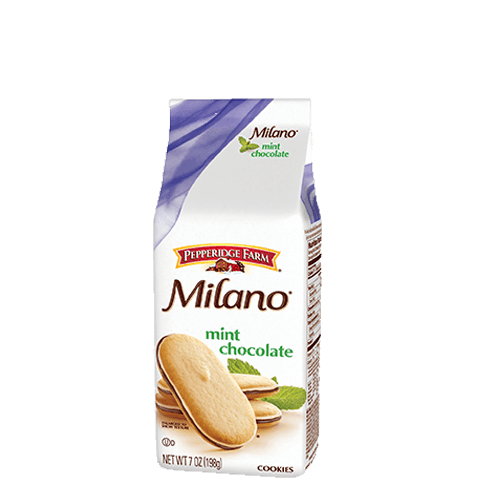 Pepperidge Milano Mint Chocolate Cookies 198g