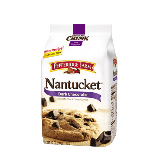 Pepperidge Farm Nantucket Dark Chocolate Cookies 204g