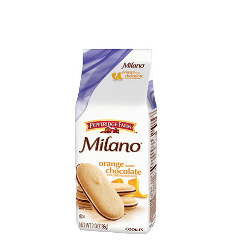 Pepperidge Farm Milano Orange Chocolate Cookies 198g