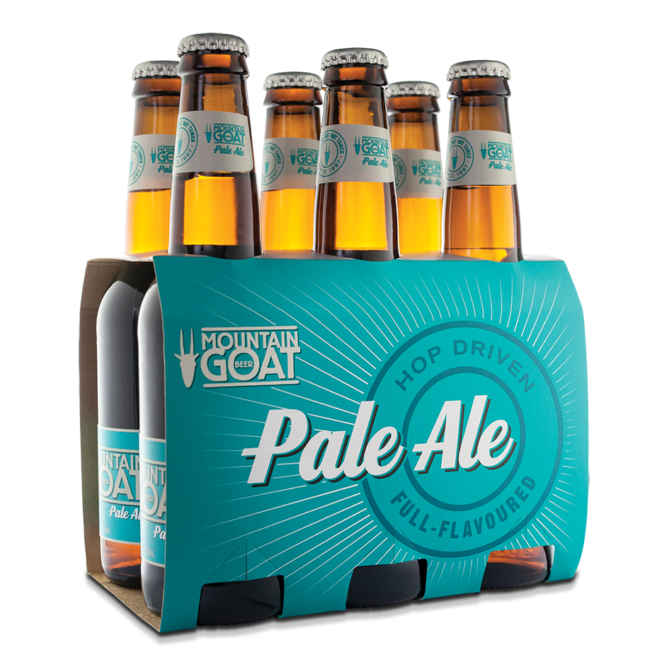 Mountain Goat Pale Ale 6 x 330ml Pack