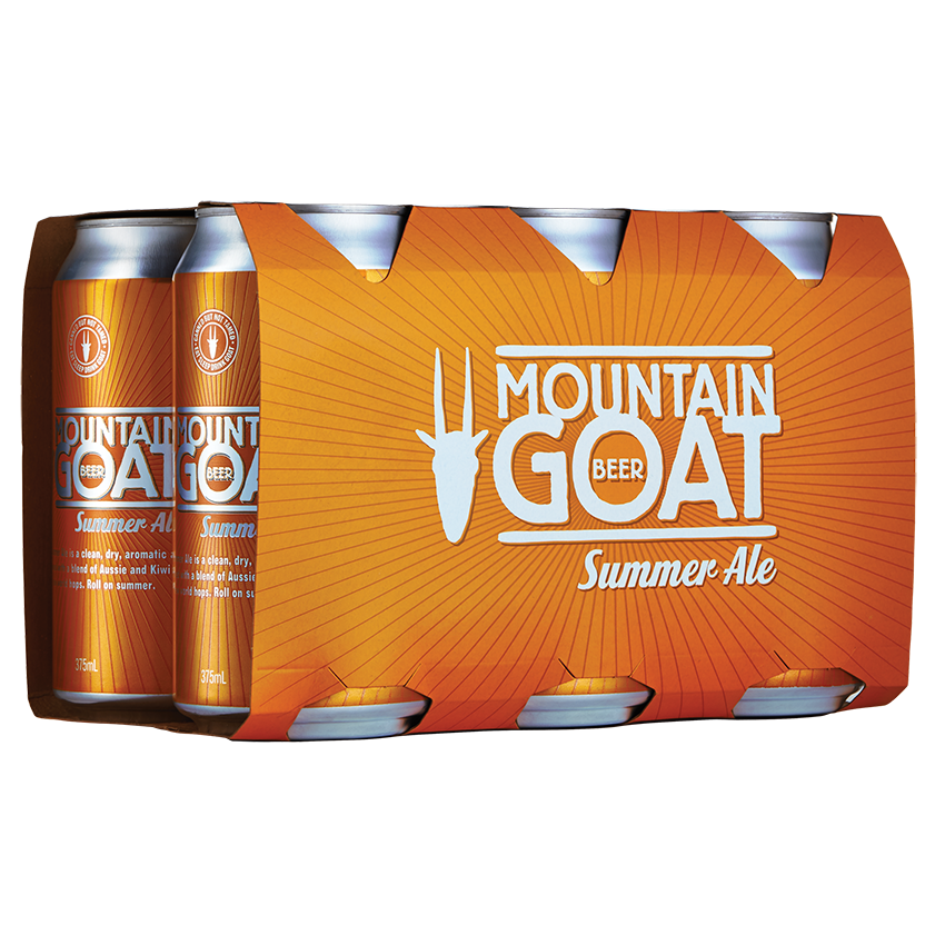 Mountain Goat Summer Ale 6 x 375ml Pack