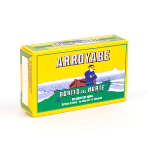 Arroyabe White Tuna in Olive Oil 111g