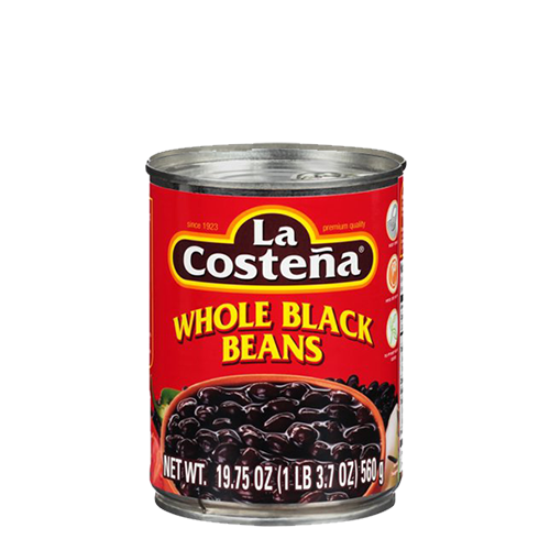 La Costena Whole Black Beans 560g