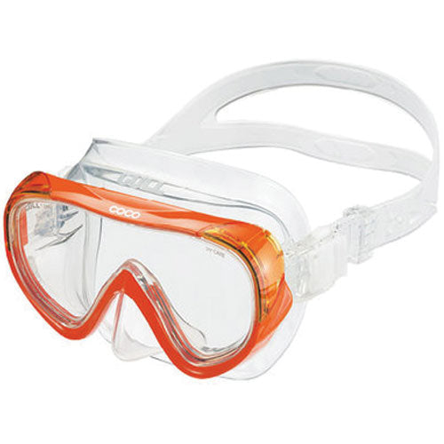 Gull Coco Mask Clear Orange