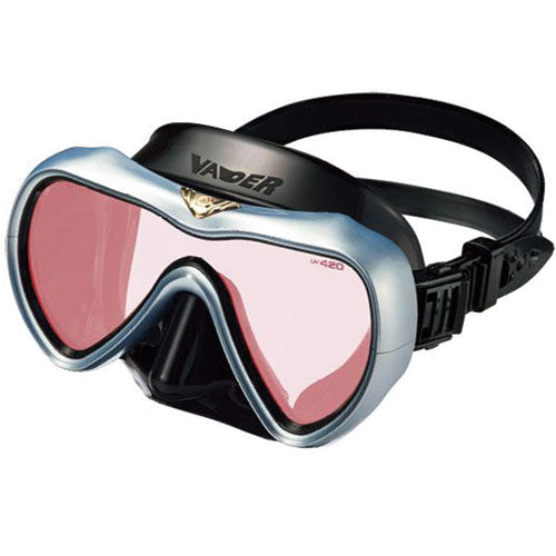 Gull Vader Mask Black Polarised Silver