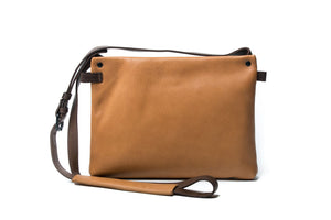 Rugged Hide Kayla Leather Bag - Tan