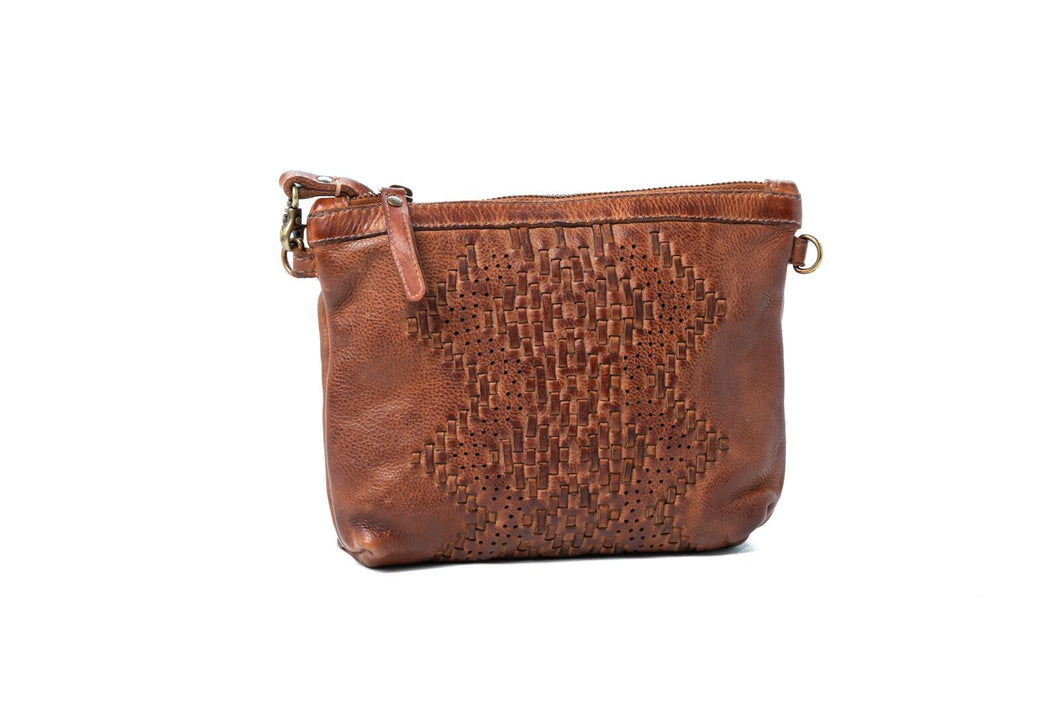 Rugged Hide Judy Soft leather clutch/sling bag