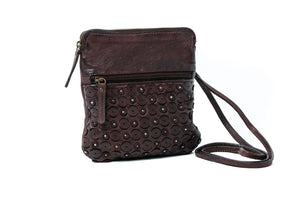 Rugged Hide Ophelia leather sling bag/clutch