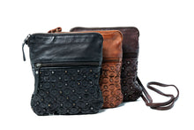 Load image into Gallery viewer, Rugged Hide Ophelia leather sling bag/clutch