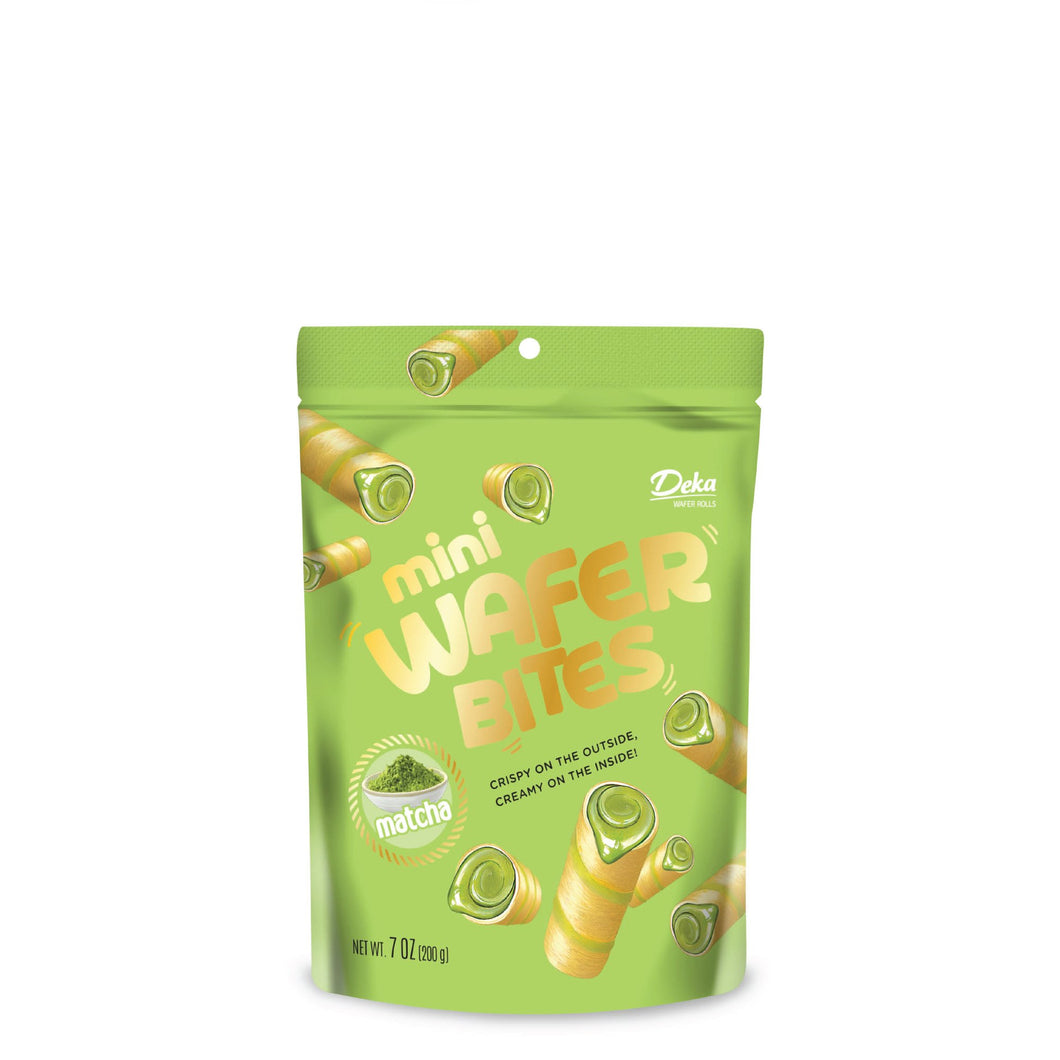Dua Kelinci Deka Matcha Green Tea Wafer Roll Mini Wafer Bites - Toko Indo NZ