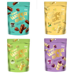 Dua Kelinci Deka Ubi Ungu Ube Wafer Roll Mini Wafer Bites - Toko Indo NZ