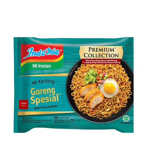 Indomie Goreng Keriting Special Curly Fried Instant Noodles - Toko Indo NZ
