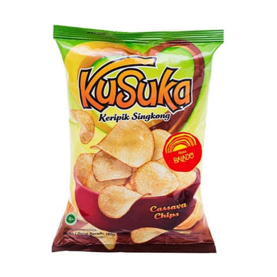 Kusuka Cassava Chips Balado Spicy Flavoured (Large) - Last 2 pcs - Toko Indo NZ