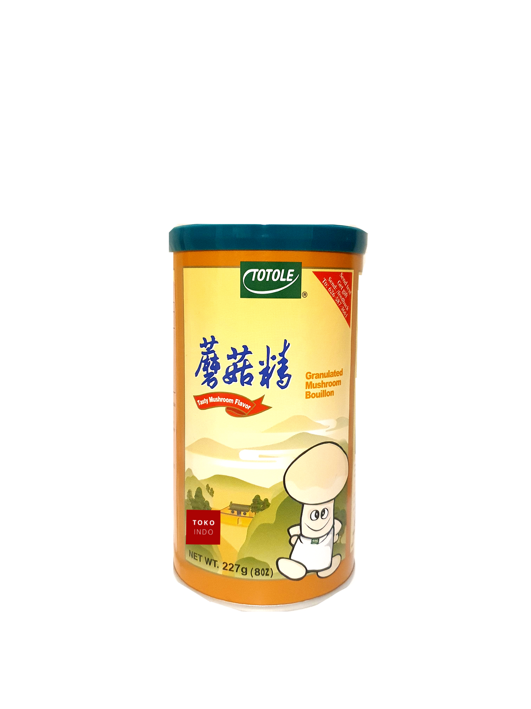 Totole Granulated Mushroom Bouillon - Toko Indo NZ