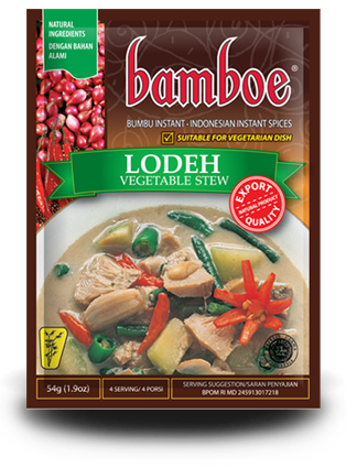 Bamboe Lodeh Vegetable Stew Spice - Toko Indo NZ