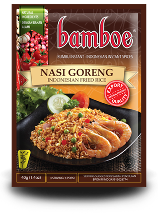 Bamboe Nasi Goreng Fried Rice Spice - Toko Indo NZ