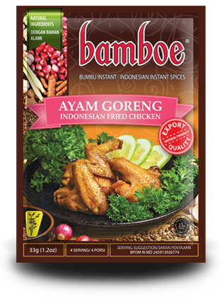Bamboe Indonesian Fried Chicken Spice - Toko Indo NZ