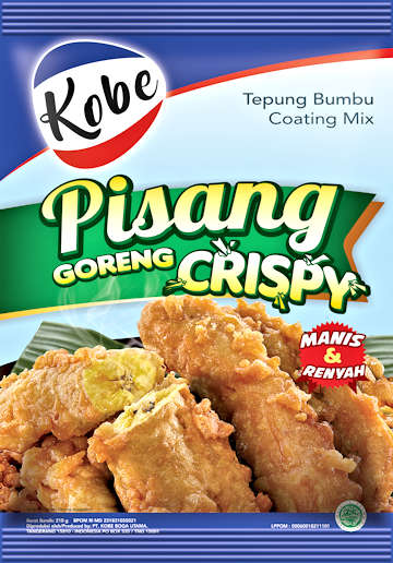 Kobe Pisang Goreng Banana Fritter Coating Mix - Toko Indo NZ