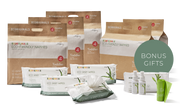 5 Packs of Nappies + 4 Packs of Wipes Promo Bundle