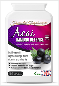 Acai Immuno Defence - Specialist Supplements - Vitamins & Supplements - TheLifestyleHut