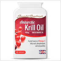 Antarctic Krill Oil - Specialist Supplements - Vitamins & Supplements - TheLifestyleHut