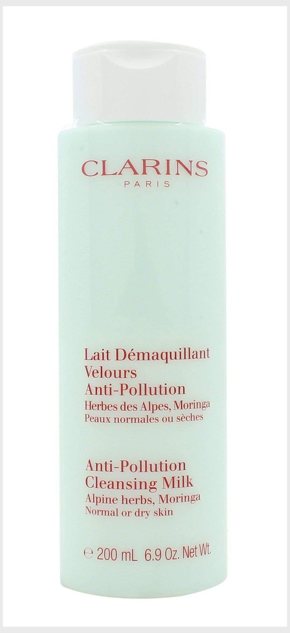 Clarins Anti-Pollution Cleansing Milk with Alpine Herbs 200ml - Dry/Normal Skin - Clarins - Cleansing Milk - TheLifestyleHut