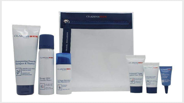 Clarins Men's Grab & Fly Gift Set - Clarins - Face Cream - TheLifestyleHut