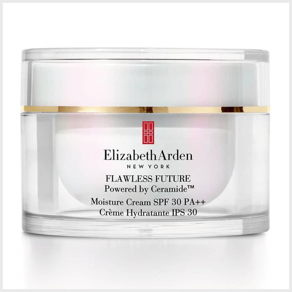 Elizabeth Arden Flawless Future Powered by Ceramide Moisturising Cream SPF30 50ml - Elizabeth Arden - Face Cream - TheLifestyleHut
