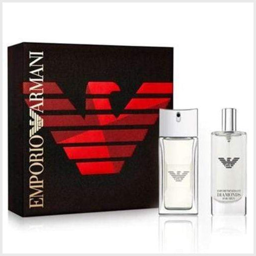 Giorgio Armani Emporio Diamonds Gift Set - Armani - Fragrance > For Him - TheLifestyleHut