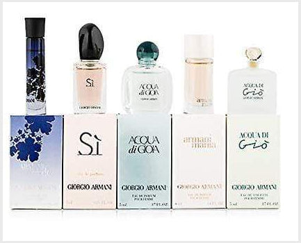 Giorgio Armani Women's Travel Gift Set 5 Pieces - Armani - Fragrance > For Her - TheLifestyleHut