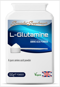 L-Glutamine - Specialist Supplements - Vitamins & Supplements - TheLifestyleHut