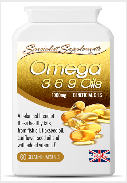 Omega 3-6-9 Oils - Specialist Supplements - Vitamins & Supplements - TheLifestyleHut