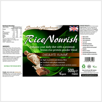 RiceNourish (Chocolate Flavour) - Specialist Supplements - Vitamins & Supplements - TheLifestyleHut