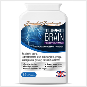 Turbo Brain - Specialist Supplements - Vitamins & Supplements - TheLifestyleHut